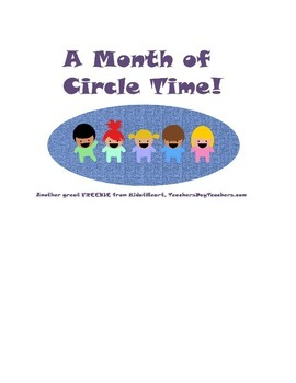 (Over) A Month of Circle Activities!