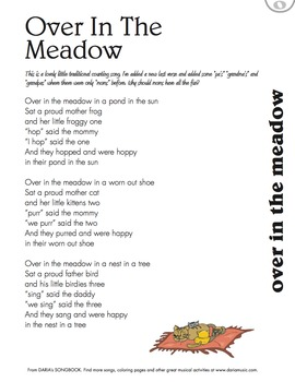 Over In The Meadow – An Inclusive Counting Song