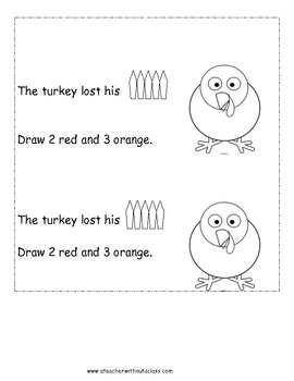 Over In the Meadow--Turkey Number Sense