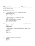 Over Sea, Under Stone Story Elements Quiz