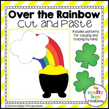 Over The Rainbow Cut and Paste