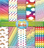 Over The Rainbow Digital Scrapbook {Zip-A-Dee-Doo-Dah Designs}