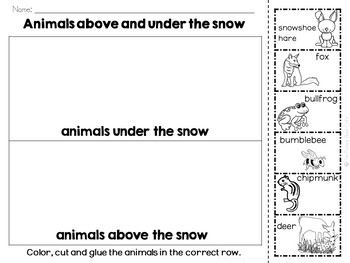 Over and Under the Snow Book Companion