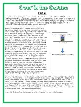 Over in the Garden- Kindergarten Interactive Read Aloud Lesson