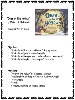Over in the Hollow - Vocal Explorations with Children's Literature