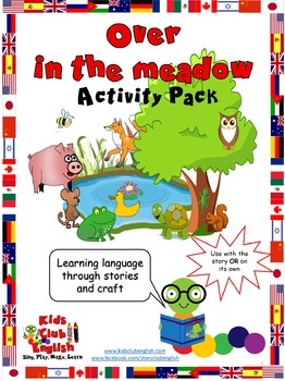 Over in the Meadow - Activity Pack - Crafts and games to learn through stories