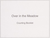 Over in the Meadow Counting Booklet