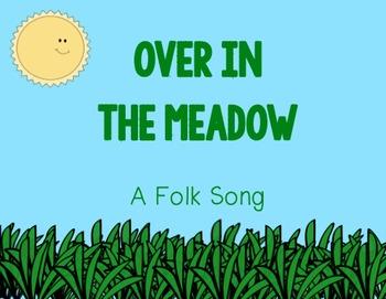 Over in the Meadow Folk Song Follow Along