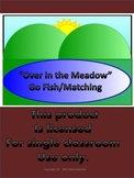 """Over in the Meadow"" Go Fish and Matching Game"