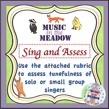 Over in the Meadow on the First Day of School Music Activity