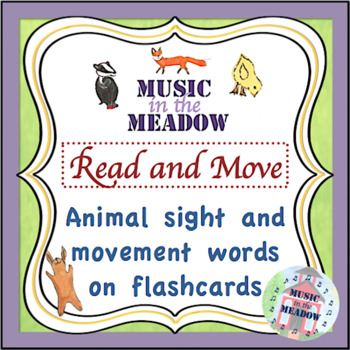 Over in the Meadow on the First Day of School Read and Move Activity
