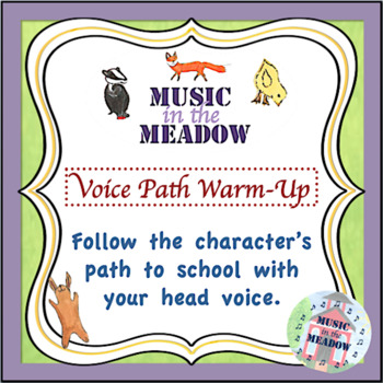 Over in the Meadow on the First Day of School Vocal Exploration Warm-up