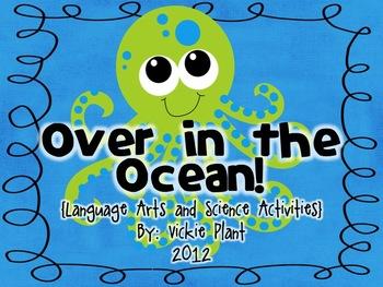 Over in the Ocean {Common Core Language Arts Centers & Activities}