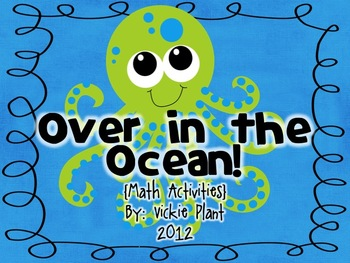 Over in the Ocean {Common Core Math Centers & Activities}