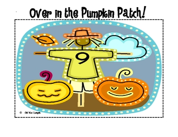 Over in the Pumpkin Patch Counting Mats