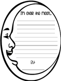 Over the Moon Writing FREEBIE