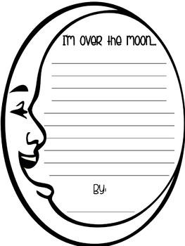 Over the Moon Writing FREEBIE