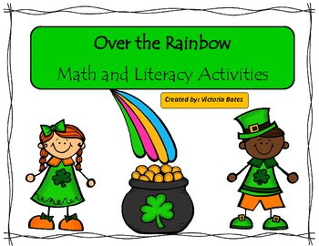 Over the Rainbow March Math and Literacy Unit