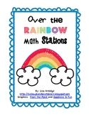 Over the Rainbow Math Stations