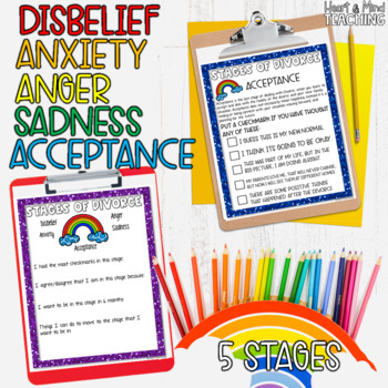 Over the Rainbow: Stages of dealing with Divorce; Changing families; SEL
