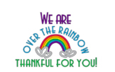 Over the Rainbow Volunteer Gift Tags