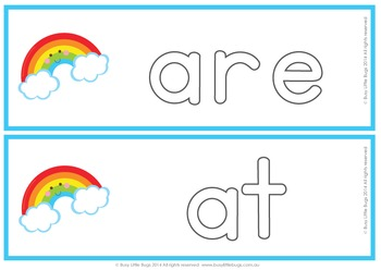 Over the Rainbow for Sight Words - Primer
