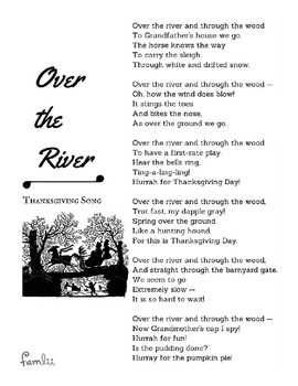 'Over the River' Thanksgiving Song Lyrics