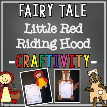 Over the River & Through the Woods {Little Red Riding Hood Craftivities}