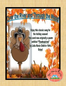 Over the River and Through the Wood! Thanksgiving Fun!