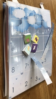 Over the rainbow- board game