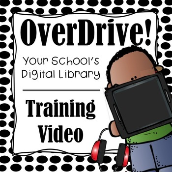 OverDrive Digital Library Training Video (4th Grade and Older)