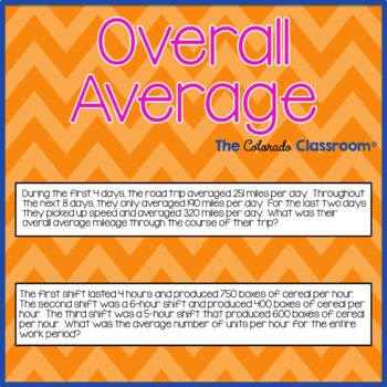 Overall Average
