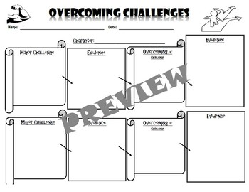Overcoming Challenges Graphic Organizer