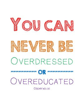 Overdressed or Overeducated