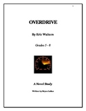 """Overdrive"" Novel Study (2004) By: Eric Walters"
