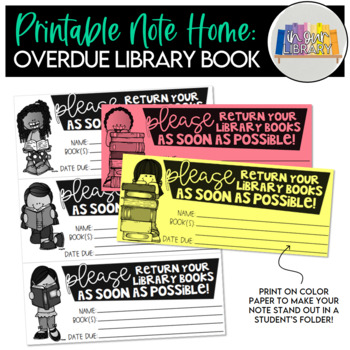 Bring back your overdue books please!