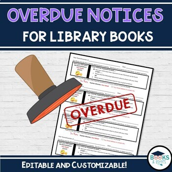 Overdue Library Book Notices