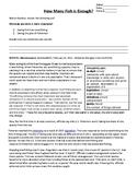 Overfishing Lab - Data Analysis and Case Study - Food Chai