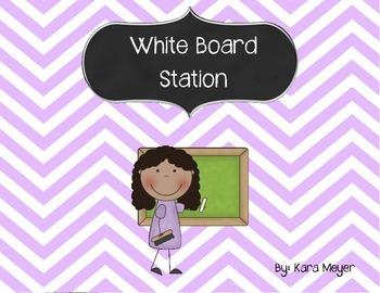 Overhead/White Board Station