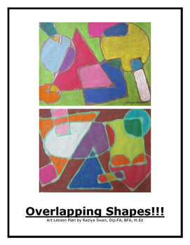 Overlapping Shapes!! Art Lesson!!