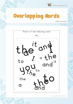 Overlapping Words (Pre-K)