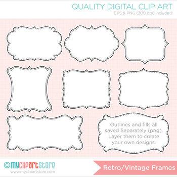 Frames - Retro Vintage