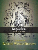 Overpopulation, RECENT WORLD HISTORY LESSON 26/45 Contest+Critical Thinking+Quiz