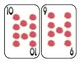 Oversized Math Numbers 1-10 Playing Cards