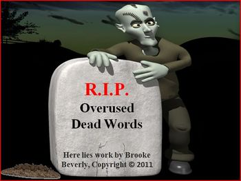 Overused Dead Words Powerpoint