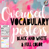 Overused Vocabulary Posters - Growing Bundle