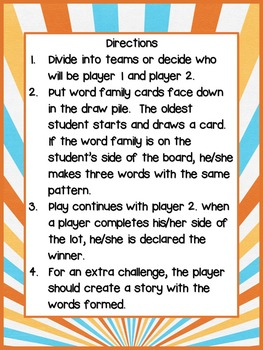 Word Study: Parking Lot Games