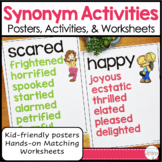 Synonym Posters and Activities