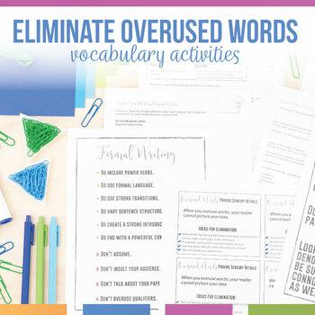 Overused Words Activity