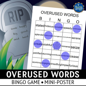 Overused Words Bingo